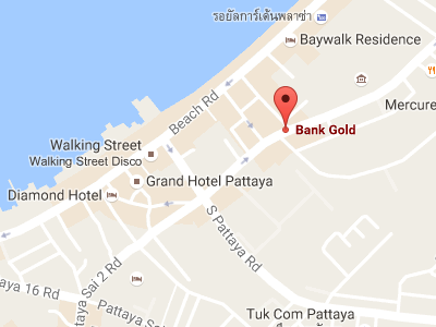 BANK GOLD Map