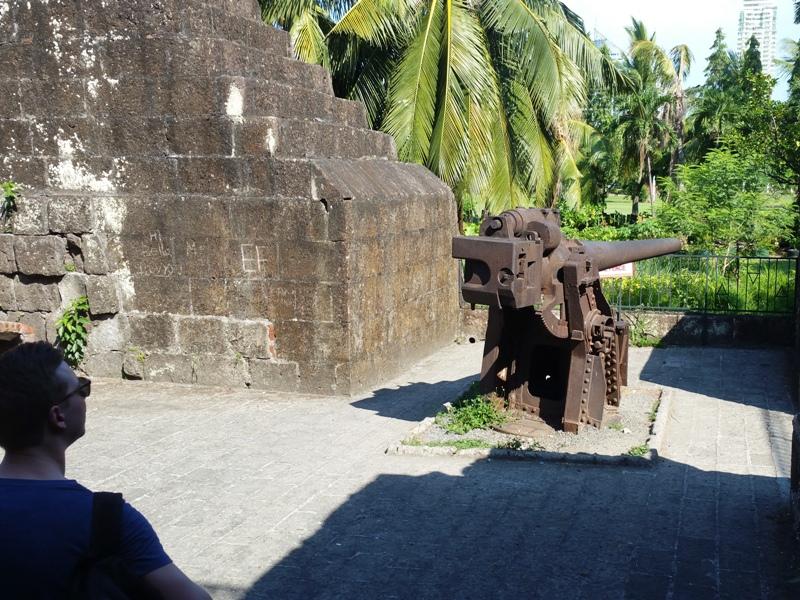 日本軍の砲台