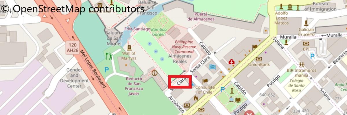 サンディエゴ庭園地図