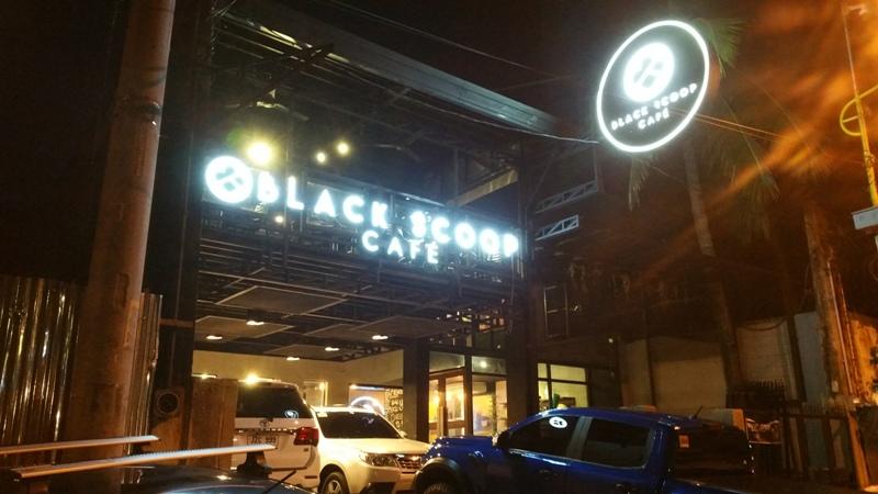 ブラックスクープカフェ外観