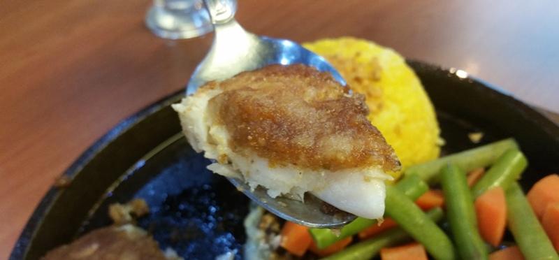 パルメザンベイクトフィッシュの魚