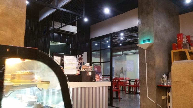 カフェフランス店内