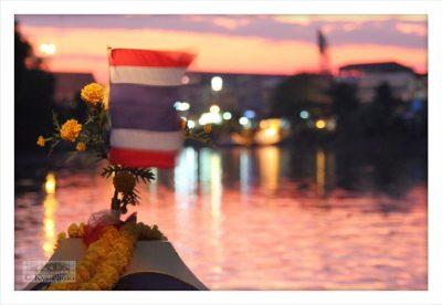 タイの夜の風景