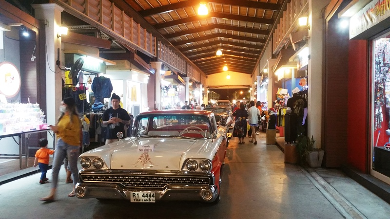Cars in the Arcade