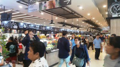 Food court in Tesco Lotus