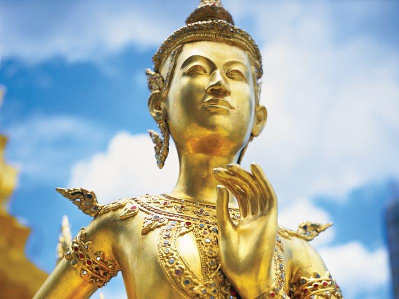 ワットプラケオのエメラルド像