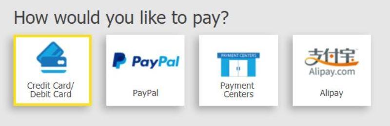 セブパシ航空券支払い方法