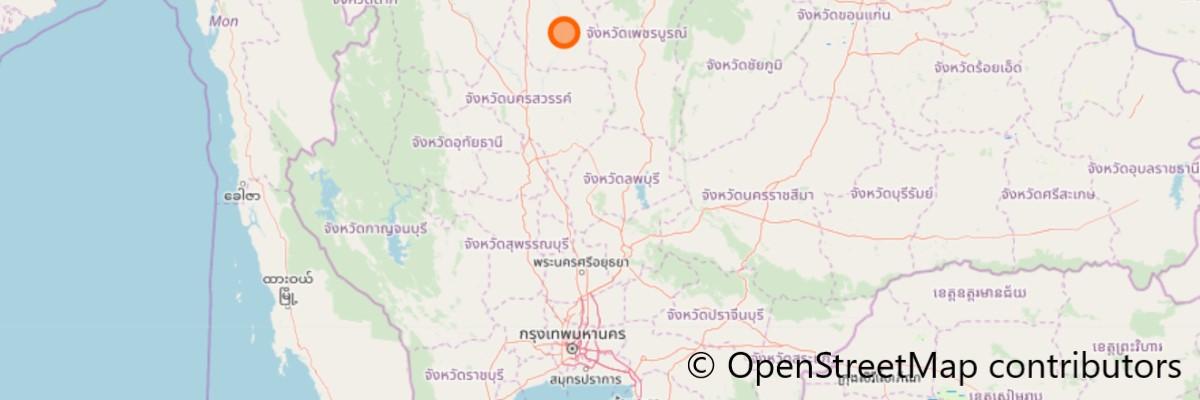 ワット・ムアン(地獄寺)の地図