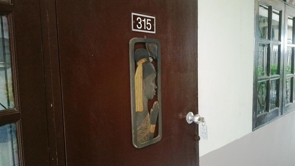 グランドパレンツホームのドア