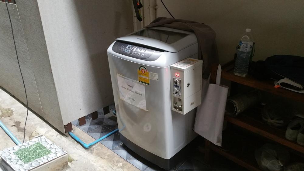Grandparents' Home Washing Machine