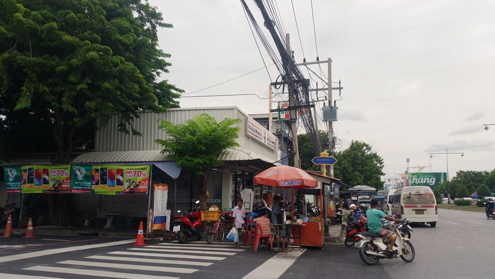 7-Eleven near the mini bus stop.