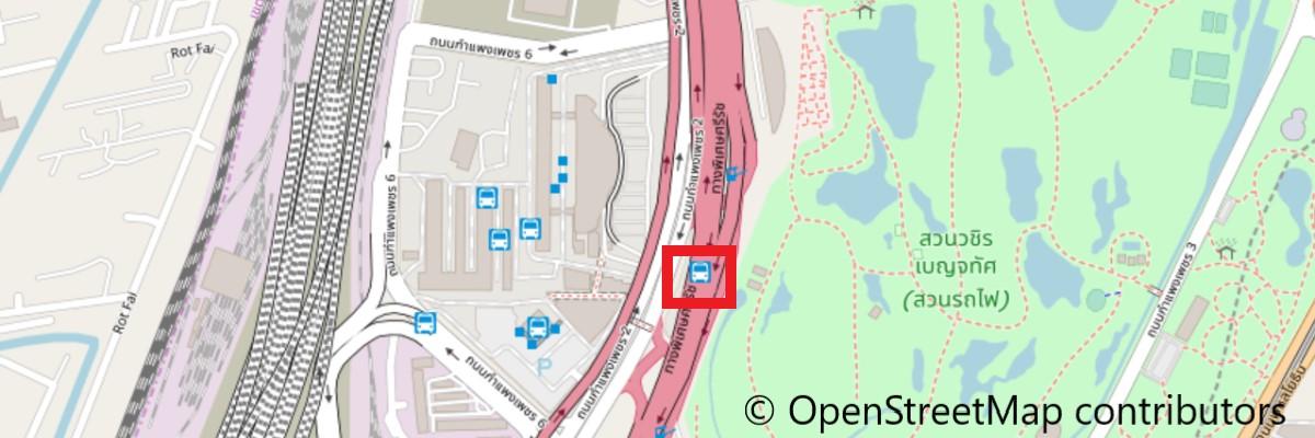 ミニバスステーションモーチット地図