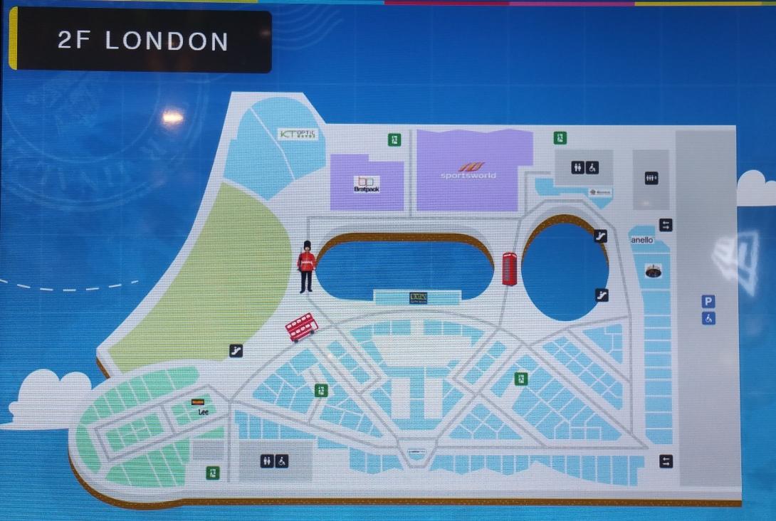 2階ロンドン地図
