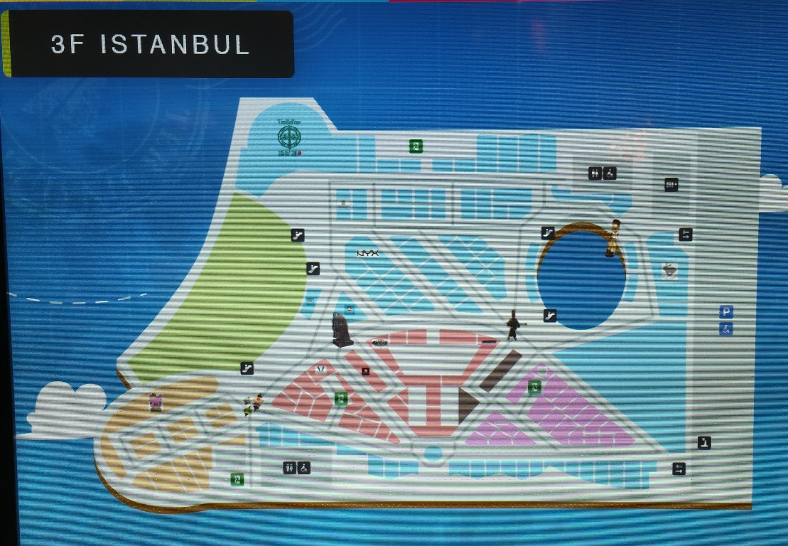 3階イスタンブール地図