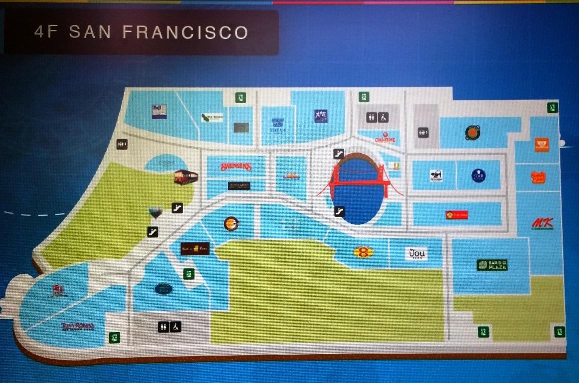 4階サンフランシスコ地図