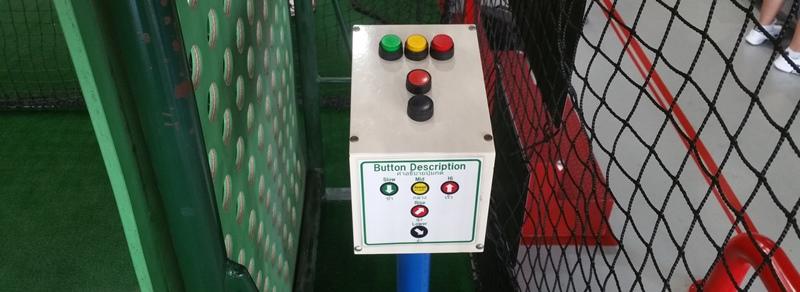 球速変更ボタン