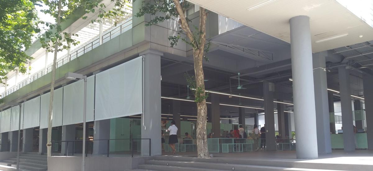 バンコク大学食堂