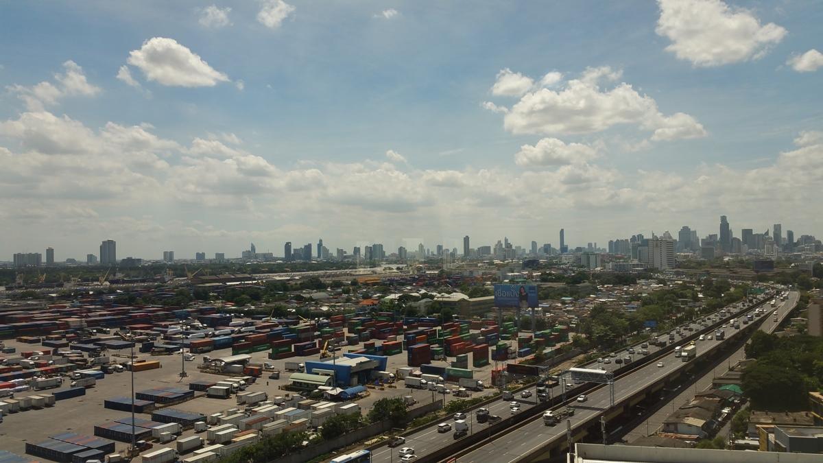バンコク市内の景色