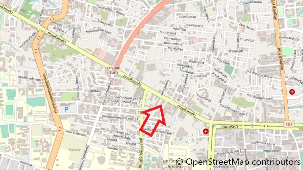 スローハウスの地図