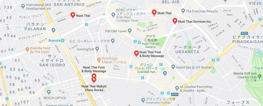 ヌアッタイの地図