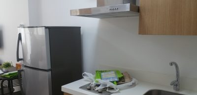 冷蔵庫とキッチン
