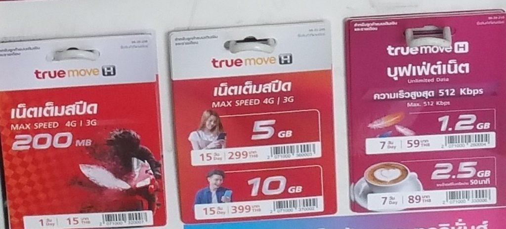 最大4G/3GSIMカード