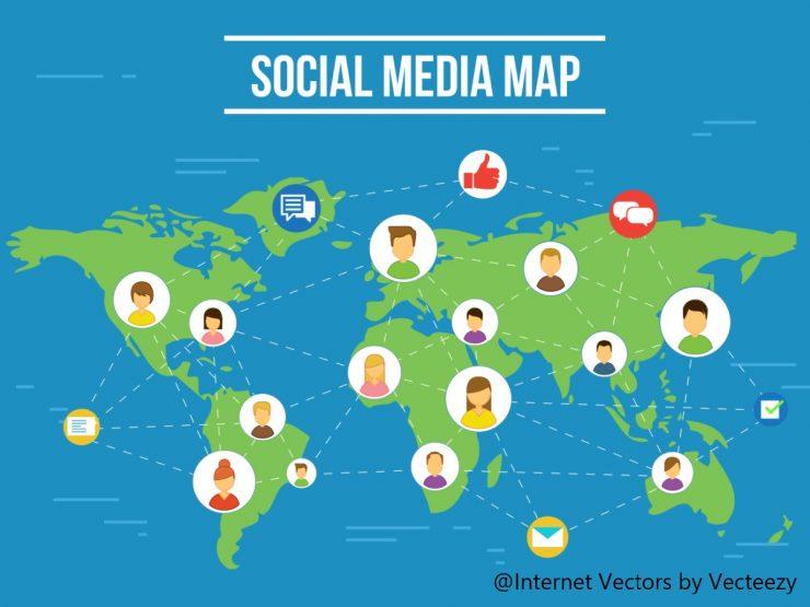 ソーシャルメディアマップ