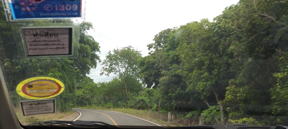 チェンマイの田舎道