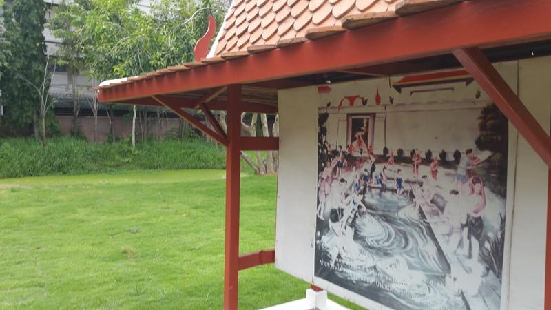 ワット・タミカラットの浴場跡