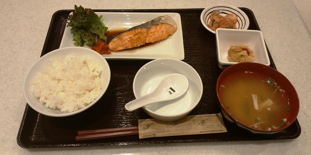フジレストランの焼き魚定食