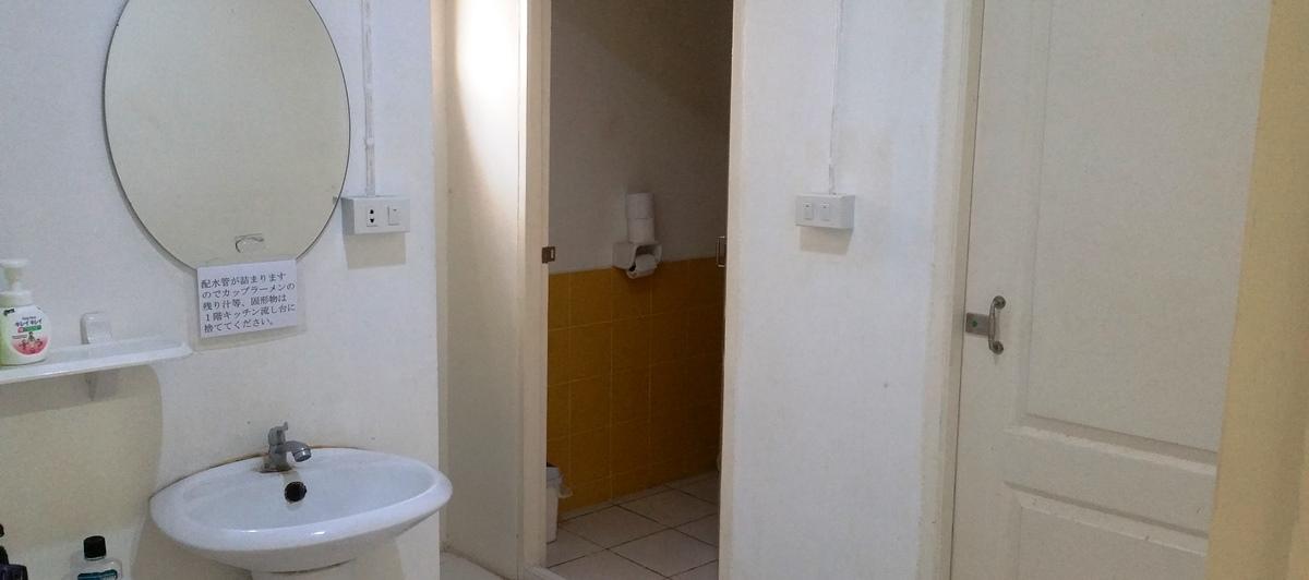 セパレート式トイレ