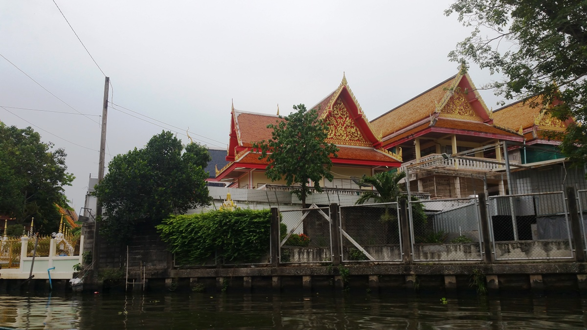 Temple by the river