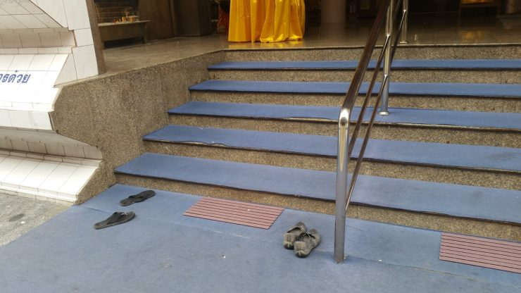 Stairs at Wat Yarn