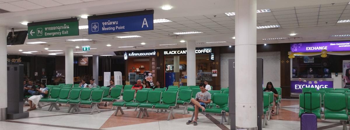 チェンマイ空港ロビー
