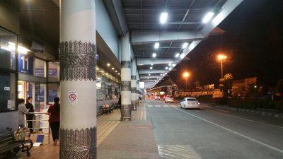 チェンマイ空港エントランス