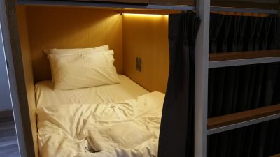 Capsule type bed