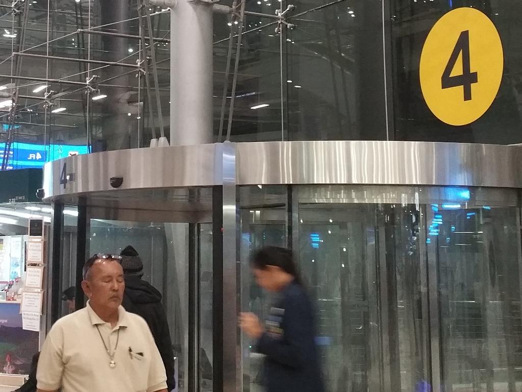 スワンナプーム空港の4番ゲート