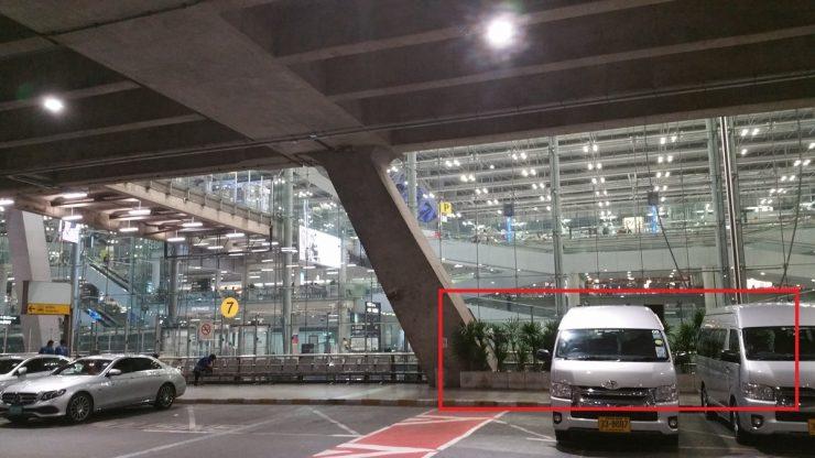 スワンナプーム空港喫煙所の場所