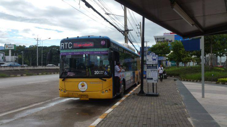 scheduled bus