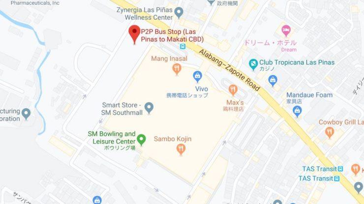 SMサウスモール地図