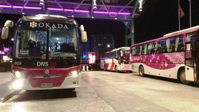 オカダマニラシャトルバス乗り場