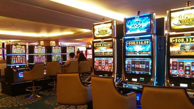 ロイスホテル&カジノのスロットマシン