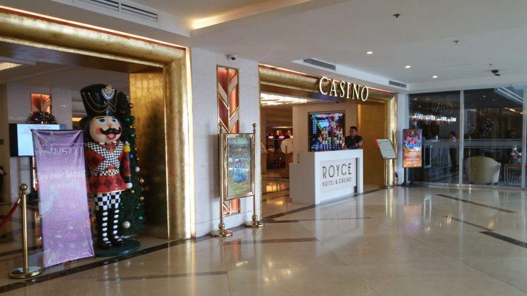 ロイスホテル&カジノのカジノ入り口