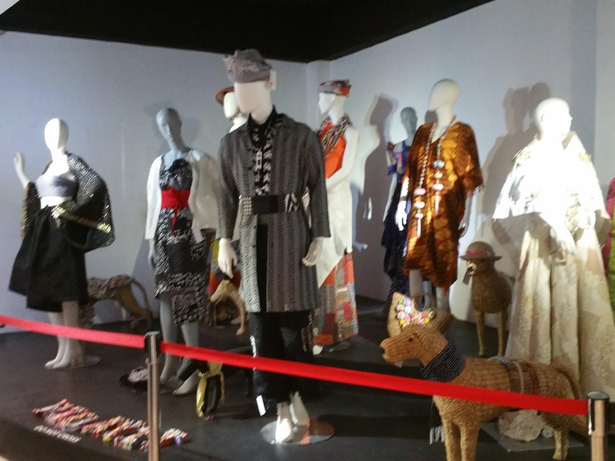 クラーク博物館の蝋人形