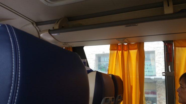 P2Pバス車内