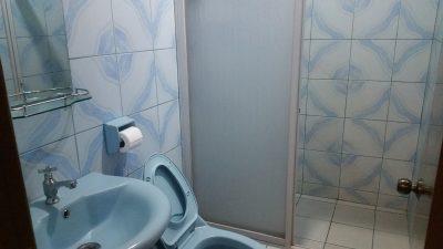 トモベホテルのトイレ、シャワー
