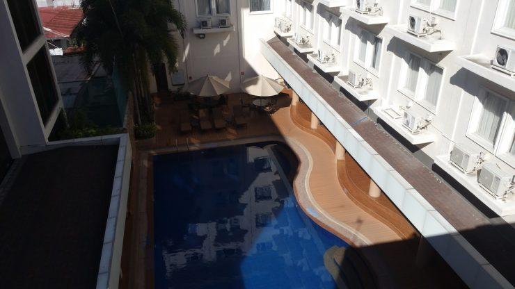 トモベホテル屋上からの景色