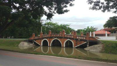 Khlong Tho roadの眼鏡橋