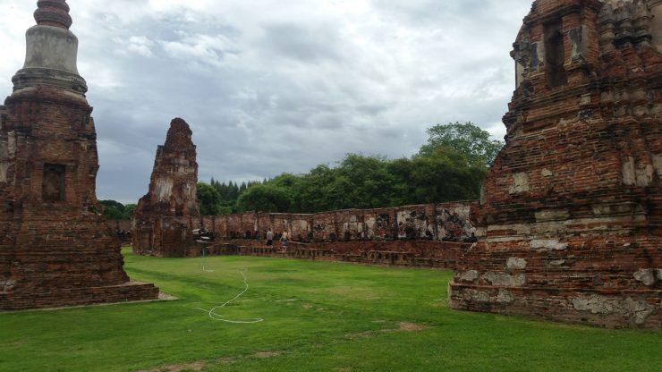 Corridor of Wat Mahathat