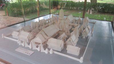 Model of Wat Mahathat